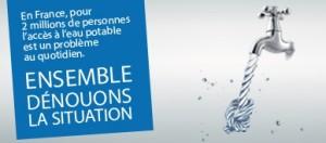 La proposition de loi pour le droit à l'eau pour tous à l'honneur