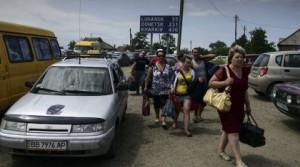 5 mil ucranianos huyen a Rusia por la violencia