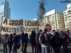 Chile: Marcha educación