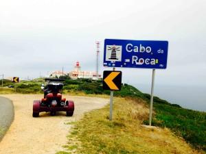 Pietro è arrivato a Cabo da Roca