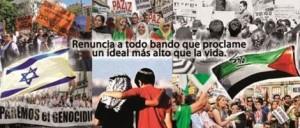 24J: Manifestación mundial por el cese inmediato de la violencia en Palestina