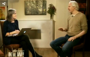 Exclusive: Democracy Now! Goes Inside Embassy Refuge, Talks with Julian Assange About WikiLeaks, Snowden
