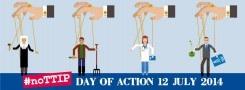 Regno Unito: protesta contro il TTIP ignorata dai mezzi d'informazione