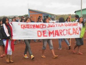 Conselho das mulheres Guarani/Kaiowá divulga documento final de assembleia realizada em MS