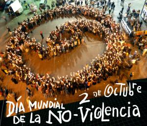 """Campanha pela """"Não-Violência"""""""