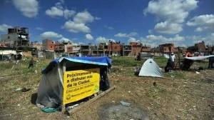 Humanistas repudian el violento desalojo del barrio Papa Francisco
