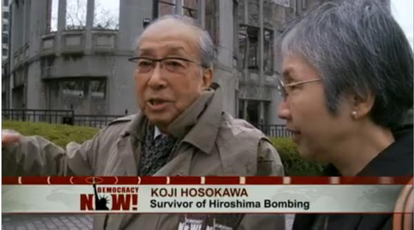 """War Makes Everyone Crazy"": Hiroshima Survivor Reflects on 69th Anniversary of U.S. Atomic Bombing"