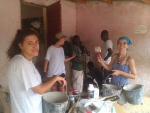 """No campo de trabalho """"Energia pelos Direitos Humanos"""" em Senegal"""