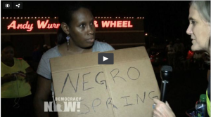 """Negro Spring"": Ferguson Residents, Friends of Michael Brown Speak Out for Human Rights"
