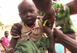 Desperate struggle against starvation in South Sudan
