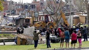 La solución no es el desalojo, la solución es la urbanización