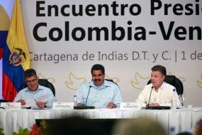 Resaltan en Venezuela alcance de reunión binacional con Colombia