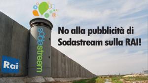 No alla pubblicità di Sodastream sulla RAI