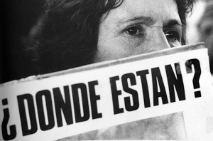 ¿Donde están? Día del detenido desaparecido