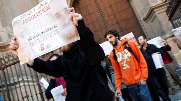 La lista de encausados por participar en piquetes ya roza los 300 españoles