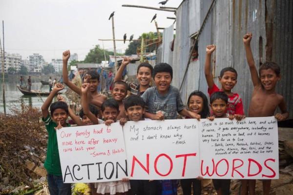 Weltweite Proteste vor dem Klimagipfel