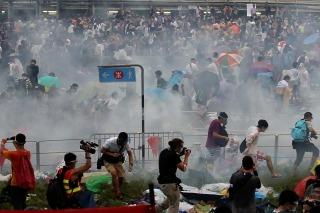 La révolution des parapluies de Hong Kong