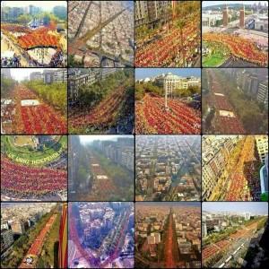 Lo más importante de la Diada del 11-09-14 de Catalunya en Barcelona