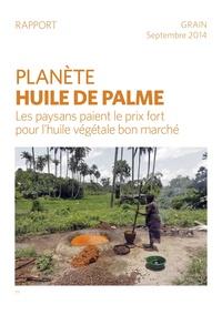 Tâche d'huile de palme agro-industrielle sur les terres africaines
