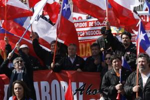 Chile, marcha por la Reforma Laboral