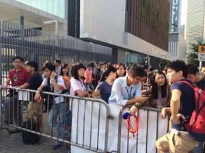 Hong Kong students boycott classes