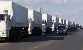 Rússia espera permissão da Ucrânia para o segundo comboio humanitário