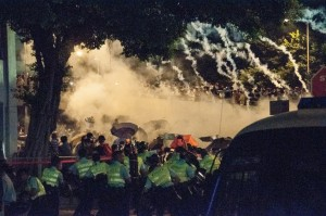 Desde Hong Kong la revolución de los paraguas