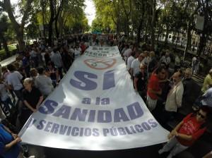 La Marea Bianca torna a invadere le strade di Madrid