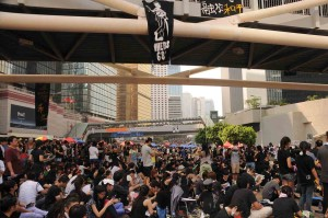 Hong Kong Oct 1 Occupy Central Protest