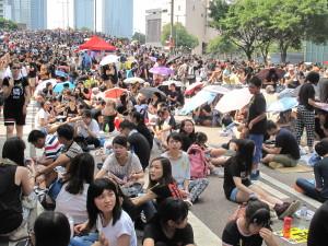 Hong Kong, Beijing, seeking a way through