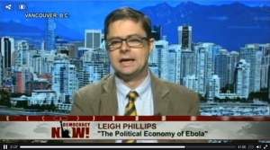 An Unprofitable Disease: In the Political Economy of Ebola, Who Lives and Who Dies?