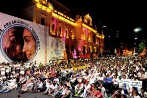 Frente Unidos y Organizados homenajeó a Kirchner en Jujuy
