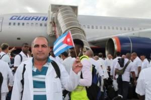 Les docteurs cubains en première ligne dans la lutte contre le virus Ebola