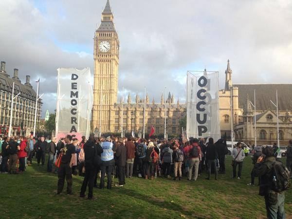 Occupy Democracy: guest at UK Uncut blog