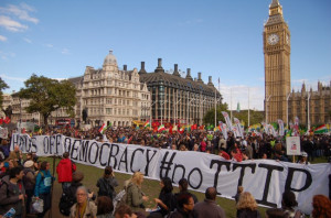 European day of action against the TTIP in London