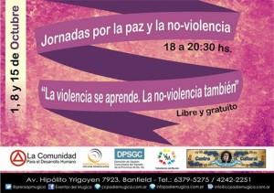 Las ciudades no-violentas en el mes de la no-violencia