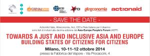Forum della società civile Asia-Europa a Milano