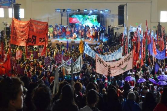 Salta: empezó el Encuentro Nacional de Mujeres con récord de asistencia