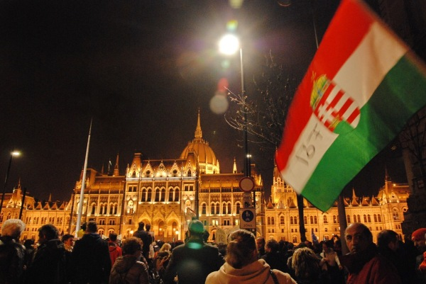 Thousands at anti-corruption protest in Budapest