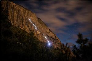 Luces en el cerro