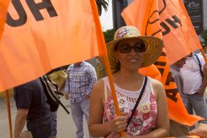 Humanistas chilenos marchan junto a Poder Social Constituyente, por una Asamblea Constituyente