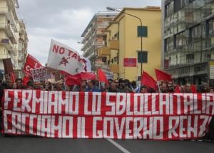 Napoli: voci dal primo corteo contro lo Sblocca Italia