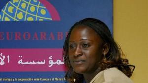 Caddy Adzuba: «Occidente crea la guerra, pero quiere que la gente se muera en su propio país»