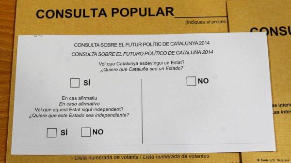 Catalães vão às urnas opinar sobre independência da Espanha
