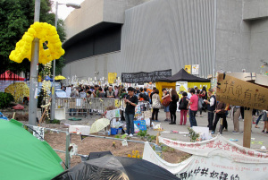 Hong Kong Umbrella Movement protest over 50 days