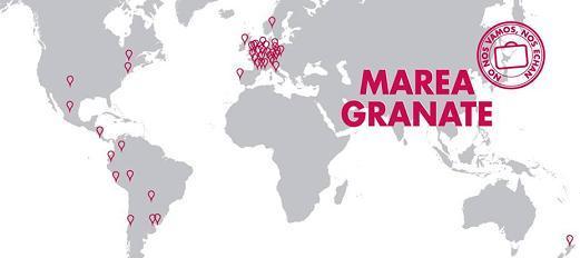 Marea Granate: el movimiento social que salta fronteras