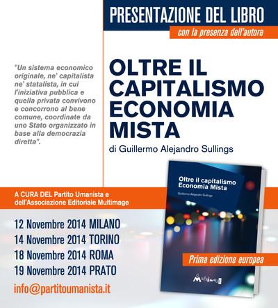 Más allá del capitalismo: se inicia la gira de Guillermo Sullings en  Italia