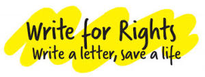 "Amnesty lancia ""Write for Rights 2014"""