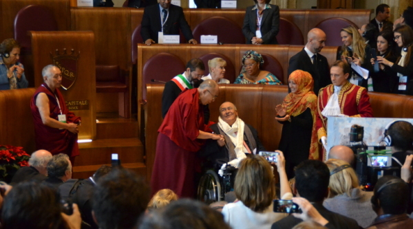 Flash of the last day of the Nobel Peace Summit