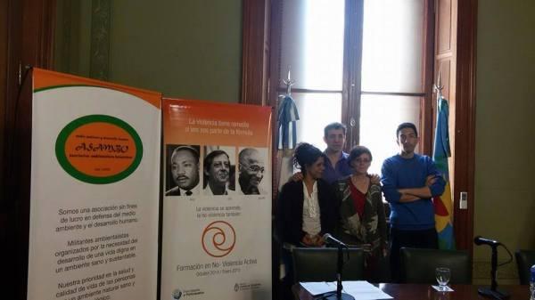 Presentacion campaña en Senado de la Provincia